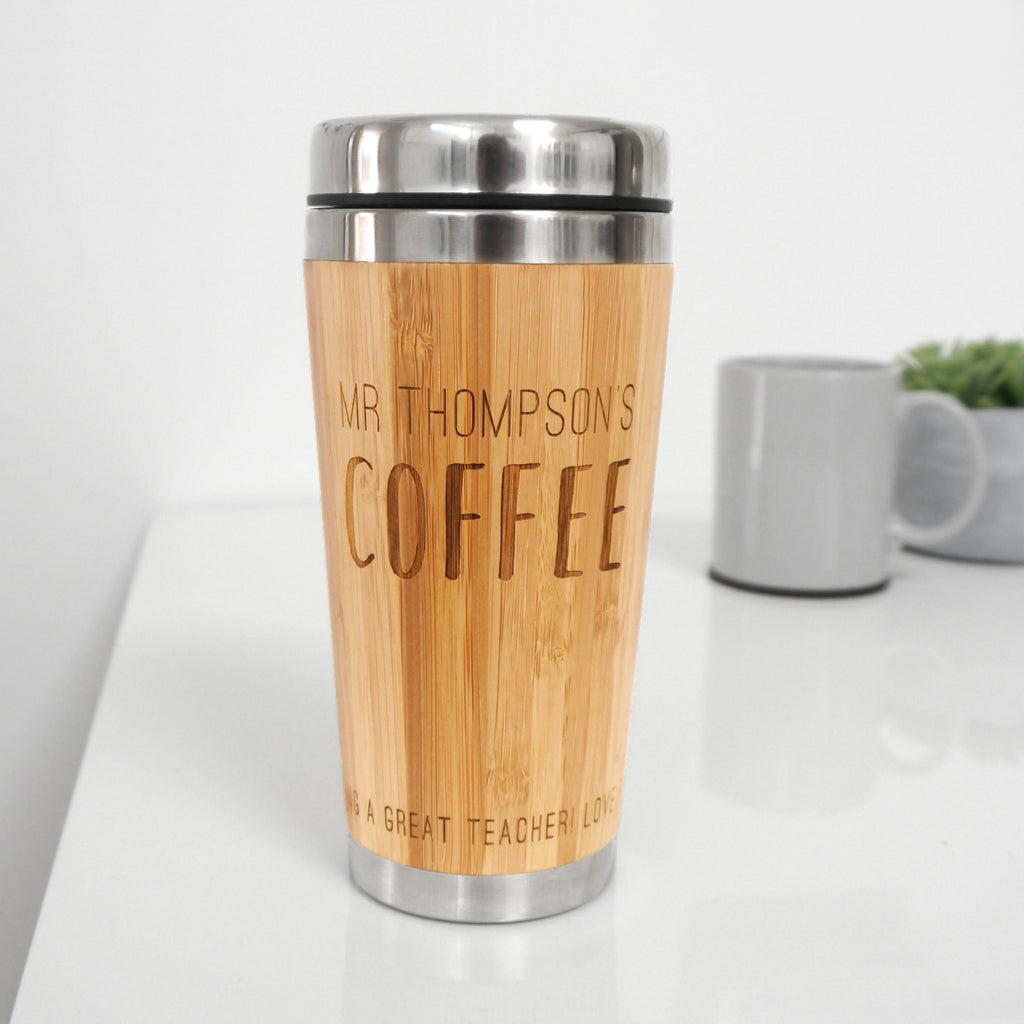 Personalised Teacher Coffee Mug