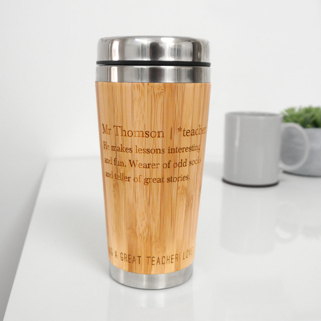 Personalised Teacher Definition Mug