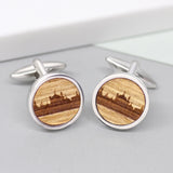 Wooden Brighton Pavilion Cufflinks