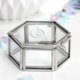 Personalised Mini Glass Jewellery Box - Seconds