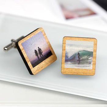 Personalised Polaroid Cufflinks