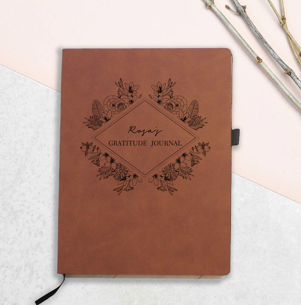Personalised Gratitude Notebook