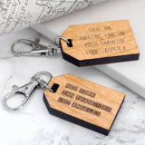 Personalised Mini Favourite Places Travel Tag