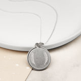 Personalised Sliding Disc Photo Necklace