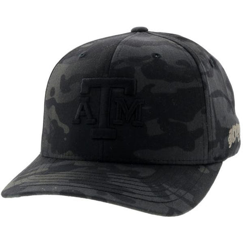 HOOey Men's Camo Texas A&M Logo Flex Fit Cap - Southern Girls Boutique