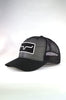 Kimes Ranch All Mesh Trucker - Black - Southern Girls Boutique