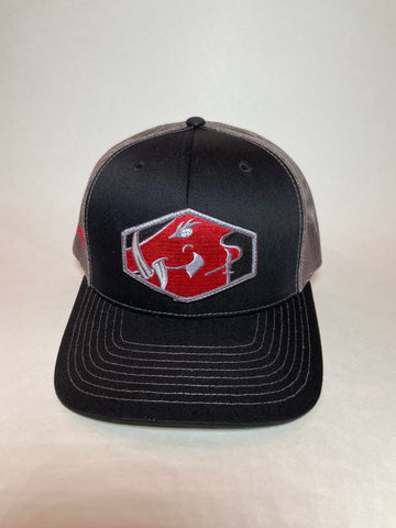 Sniper Pig Black/Gray SP Patch Hat