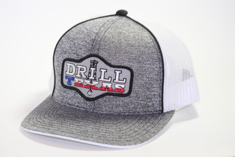 Red Dirt Hat Co Texas Oil Hat Drill Texas  Snap Back Trucker Hat - Southern Girls Boutique