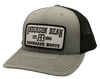 Red Dirt Hat Co  Anderson Bean – Heather Grey / Black Snap Back Trucker Hat