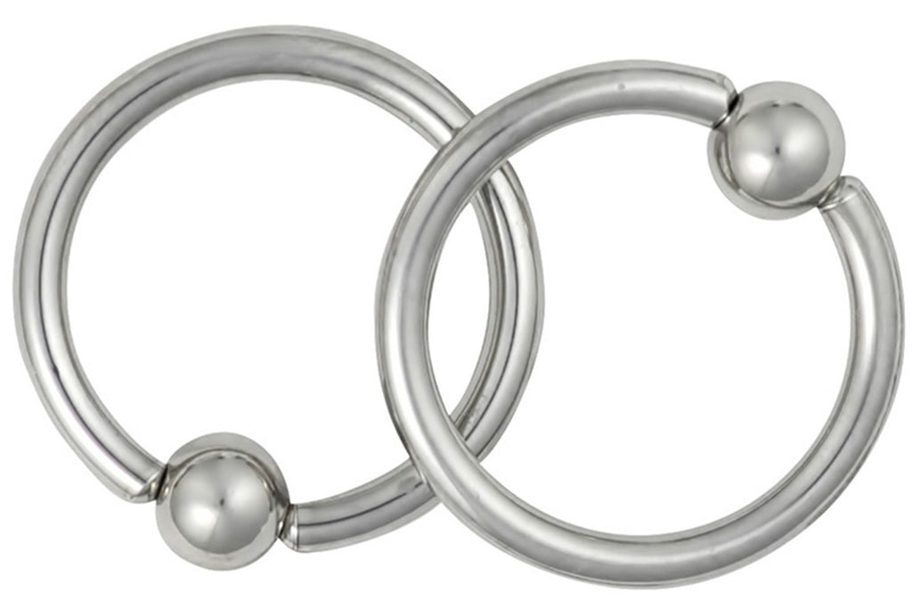 This jewelry is made with surgical grade 316L Stainless Steel. It is hypoallergenic and nickel free.