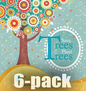 Save Trees Plant Trees 6-pack (Level 11)