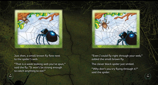 The Clever Black Spider 6-pack (Level 14)