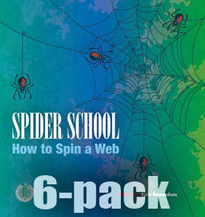 Spider School: How to Spin a Web 6-pack (Level 14)