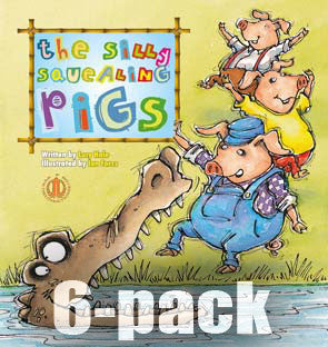 The Silly Squealing Pigs 6-pack (Level 15)
