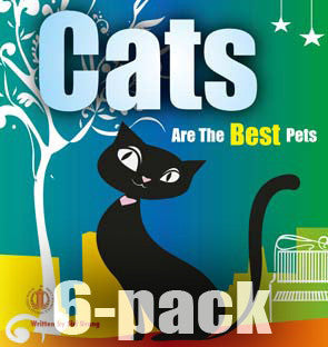 Cats are the Best Pets 6-pack (Level 16)