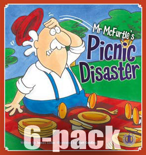 Mr McFurtle's Picnic Disaster 6-pack (Level 16)