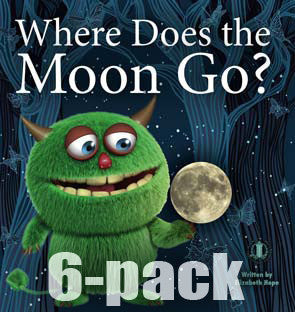 Where Does the Moon Go? 6-pack (Level 18)