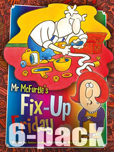 Mr McFurtle's Fix-Up Friday 6-pack (Level 21)