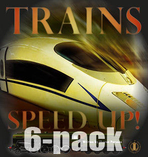 Trains Speed Up! 6-pack (Level 22)
