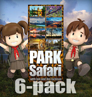 Park Safari 6-pack (Level 24)