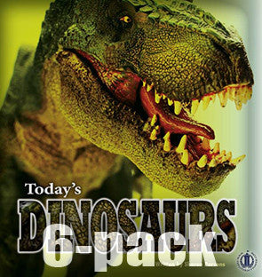 Today's Dinosaurs 6-pack (Level 29)