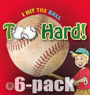 I Hit the Ball Too Hard! 6-pack (Level 3)