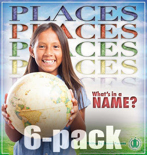 Places: What's in a Name? 6-pack (Level 30)