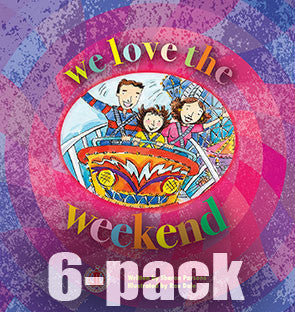 We Love the Weekend 6-pack (Level 5)