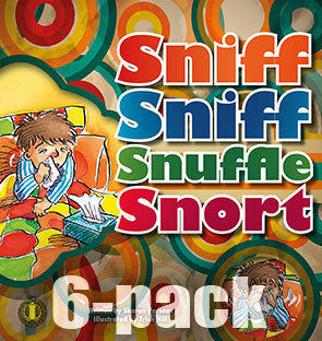 Sniff Sniff Snuffle Snort 6-pack (Level 6)