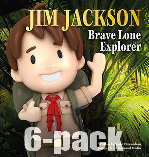 Jim Jackson Brave Lone Explorer 6-pack (Level 8)