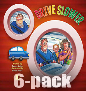 Drive Slower 6-pack (Level 8)