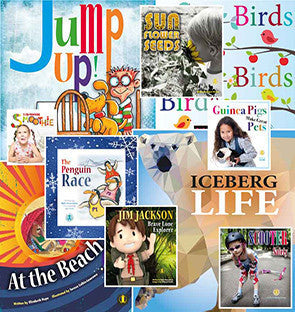 Year 1 Set (one copy of all 50 titles at Levels 1-10 - save $50.00)