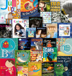 Year 1 and Year 2 Sets (one copy of all 100 titles at Levels 1-20 – save $125)