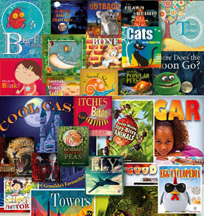 Year 2 and Year 3 Sets (one copy of all 100 titles from Levels 11-30 – save $125)