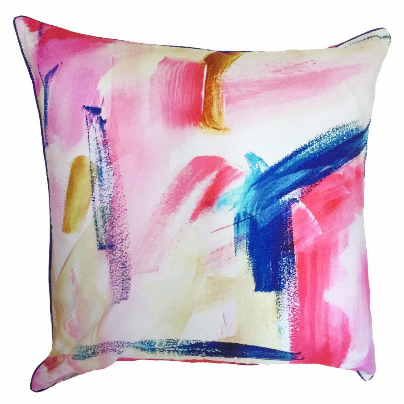 Indoor/Outdoor Pillow - Cotton Candy (Pink) - The Blush Label