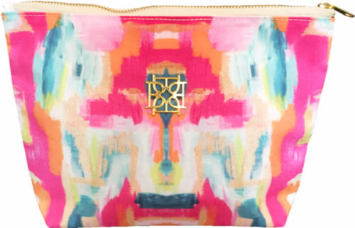 Cosmetic Case - Bombay - The Blush Label - Vibrant Resort Wear & Home Decor