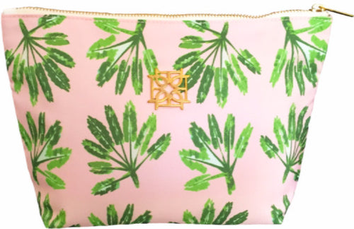 Cosmetic Case - Little Palms - The Blush Label