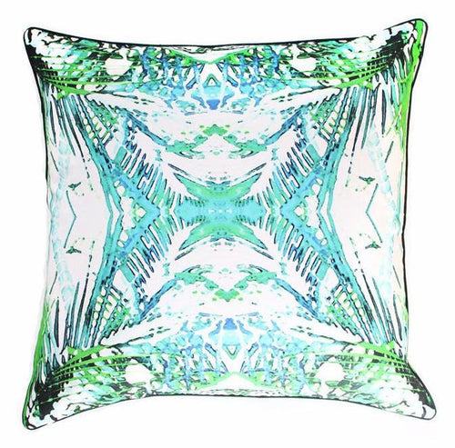 Indoor/Outdoor Pillow - Jungle (Green) - The Blush Label - Vibrant Resort Wear & Home Decor