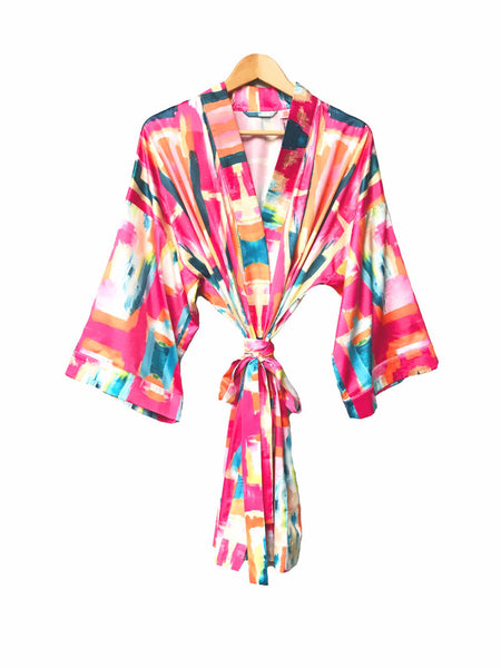 Kimono Robe - Bombay - The Blush Label
