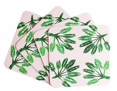 Coasters - Little Palms - The Blush Label - Vibrant Resort Wear & Home Decor