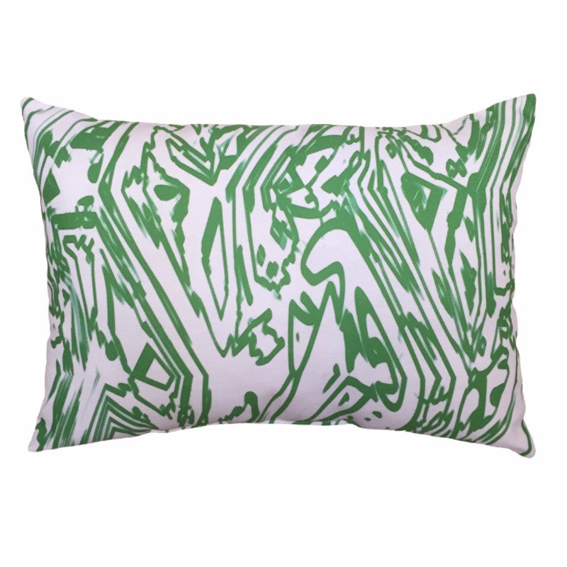 Indoor/Outdoor Pillow - Emerald - The Blush Label