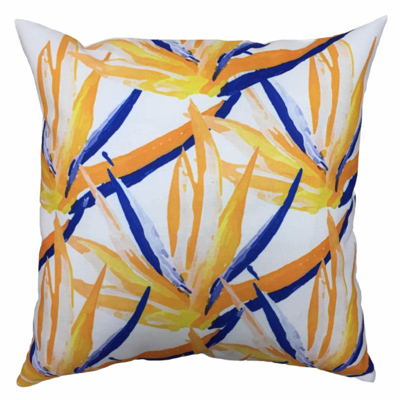 Indoor/Outdoor Pillow - Birds of Paradise - The Blush Label