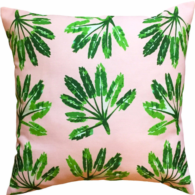 Indoor/Outdoor Pillow - Little Palms - The Blush Label
