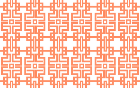 Fabric by the Yard - Marrakesh (Orange)