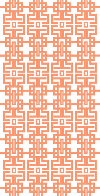 Beach Towel - Aztec (Coral) - The Blush Label - Vibrant Resort Wear & Home Decor