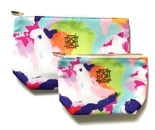 Cosmetic Case - Martin - The Blush Label - Vibrant Resort Wear & Home Decor