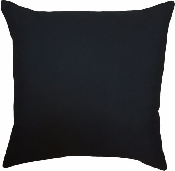 Indoor/Outdoor Pillow - Solid (Black) - The Blush Label