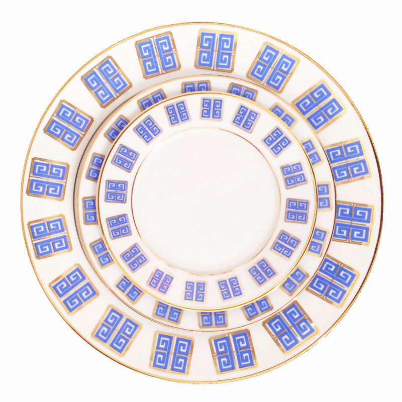 Dinnerware - Greek Key - The Blush Label