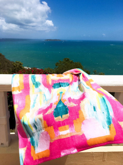 Beach Towel - Bombay - The Blush Label - Vibrant Resort Wear & Home Decor