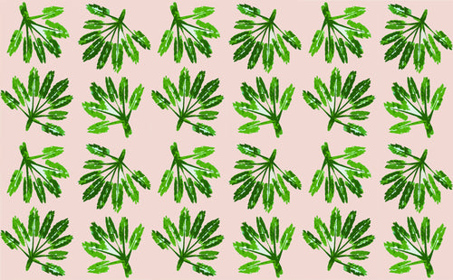 Fabric by the Yard - Little Palms - The Blush Label - Vibrant Resort Wear & Home Decor